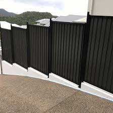 China Black Powder Coated Garden Galvanized Metal Colorbond Fence Panel China Fence Panel Safety Fencing