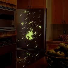 Cartoon Universe Meteor Shower Luminous Diy Pvc Wall Sticker Kids Room Home Decor Art Mural Decal Alexnld Com