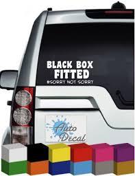 Black Box Fitted Car Decal Vinyl Bumper Window Sticker Archives Statelegals Staradvertiser Com
