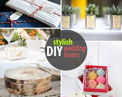 diy wedding favors for design