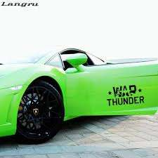 Chevy Thunder 5 X 8 Vinyl Car Truck Window Decal Stickers