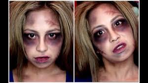 easy halloween makeup zombie