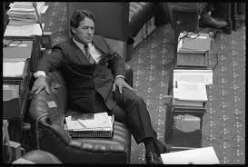 National MP Winston Peters in his seat ...