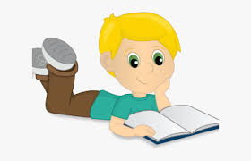 Cartoon Child Reading - Cartoon, HD Png Download , Transparent Png ...
