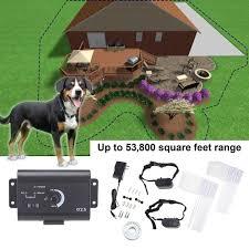 Underground Electric Dog Fence Waterproof Shock Collars For 2 Dogs Walmart Com Walmart Com