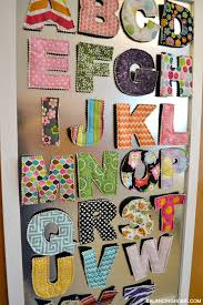 Diy Magnet Board In Kids Room With Fabric Magnetic Letters From Crunch Baby Farm Balancing Home
