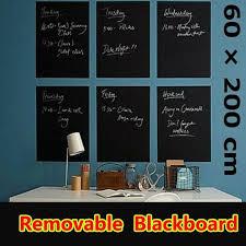Blackboard Removable Vinyl Wall Sticker Chalkboard Decal Chalk Board Wish