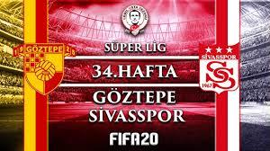 Göztepe - Sivasspor / Süper Lig 34. Hafta (FIFA 20 Maç Simülasyonu ...