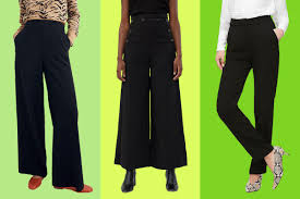 21 best black work pants for women 2020