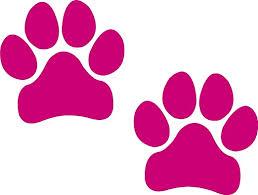 Amazon Com I Make Decals Paw Prints Pink Pawprints Paws Dog Puppy Pup Mutt Canine Print Car Auto Wall Locker Laptop Ipad Notebook Netbook Vinyl Sticker Decal Label Placard Pink Automotive