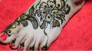bridal mehndi foot design 2018 latest images