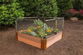 Raised Garden Bed Animal Barrier 4 X 4 Ft Canadian Tire