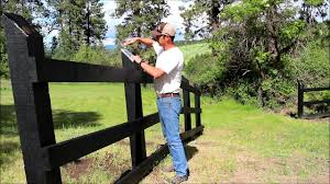 Building A Three Rail Fence Youtube
