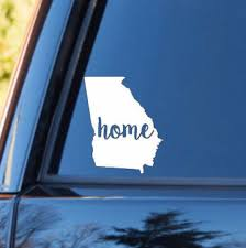 Georgia Home Decal Georgia State Decal Homestate Decals Love Sticker Love Decal Car Decal Car Stickers B Family Car Decals Car Decals Family Car