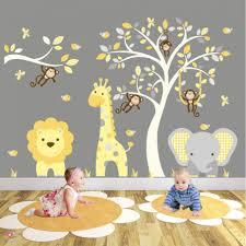 Jungle Animal Wall Decals For Nursery Woodland Australian Baby Room Art Bathroom Abc Arctic Vamosrayos