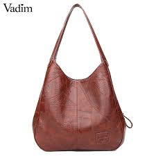 leather handbags female shoulder bags