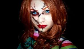 halloween makeup chucky cosplay amino