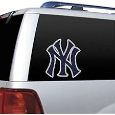 Amazon Com New York Yankees Removable 5 X6 Car Decal Kitchen Dining
