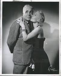 1954 Press Photo June Johnson and Marty May in 'Pardon Our Antenna ...
