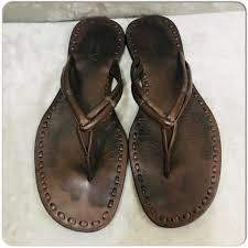 teva langdon leather sandals mens size