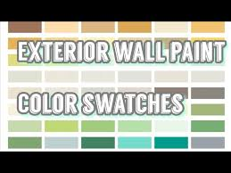 wall paint color swatches elastomeric