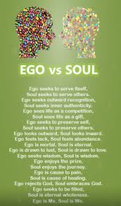 episode ego versus soul which is dominant in your life this