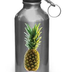 The Decal Store Com By Yadda Yadda Design Co Clr Wb Realistic Tropical Pineapple Water Bottle Vinyl Decal C 2