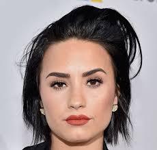 demi lovato gorgeous makeup sleek