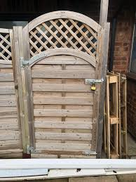 Wooden Fence Gate 90cm X 193cm In Ol16 Rochdale For 35 00 For Sale Shpock