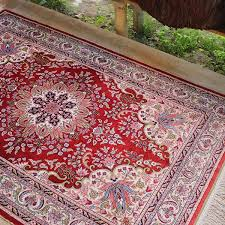 turkish rug off white ottoman