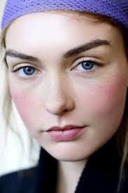 get rosy cheeks and glowy skin without
