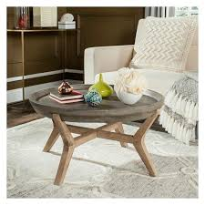 coffee table dark gray safavieh