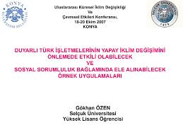 PPT - Gökhan ÖZEN Selçuk Üniversitesi Yüksek Lisans Öğrencisi PowerPoint  Presentation - ID:4669894