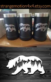 Diy Vinyl Decals For Tumblers Bear Decal Car Decals Mountain Stickers Laptop Decal Equalmarriagefl Vinyl From Diy Vinyl Decals For Tumblers Pictures