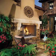 wre45 outdoor woodburning fireplace