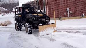 samurai homemade snow plow you