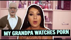 i caught my grandpa watching