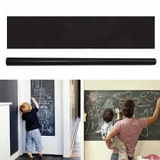 45 200cm Black Board Multifunction Chalkboard Learning Message Board Wall Decal Chalkboard Sticker Removable Chalk Board Aliexpress