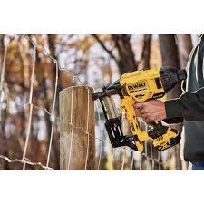 Dewalt Dcfs950b 20v Max Xr Brushless 9 Gauge Fencing Stapler Tool Only