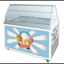 gelato ice cream dipping cabinet