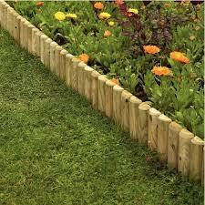 Gardens Fencing Garden Edgings Log Rolls Border Edging 15cmx1m 500x500 Jpg 500 500 Pixels Wooded Landscaping Wood Landscape Edging Garden Border Edging