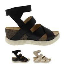 teva tirra leather las sandal rust