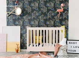 baby room with wallpaper learn how to