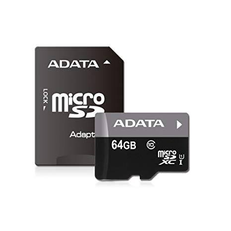 Image result for Adata Micro SD Card - 64 GB""