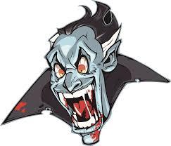 Amazon Com Divine Designs Creepy Halloween Dracula Vampire Cartoon Face Vinyl Decal Sticker 4 Wide Automotive