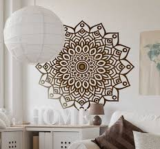 Mandala Wall Sticker Tenstickers