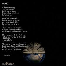 home a distant memory tr quotes writings by akanksha sharma