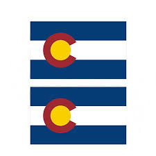 Colorado State Flag Decal Set Co Motorcycle Car Truck Vinyl Sticker Walmart Com Walmart Com