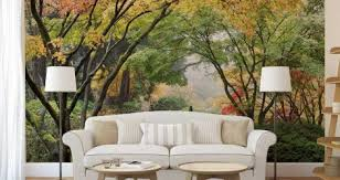 Forest Wall Mural Decal Uk Black And White Ebay Art Painting Australia Near Me Vamosrayos