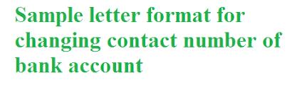 sle letter format for changing